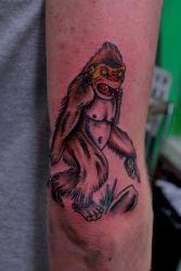 Big Foot Tattoo