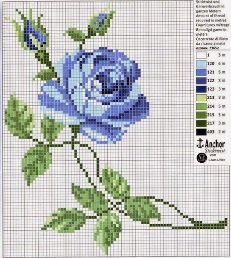 12 ανοιξιάτικα σχέδια για κεντημένα τριαντάφυλλα /   12 rose cross stitch patterns - ideal Spring patterns    Επισκεφτείτε την ετικέτα...