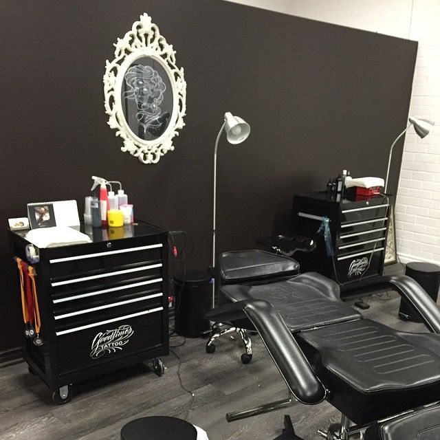 Our grand opening at #goodtimestattoo is today! So if you've got nothing on and…