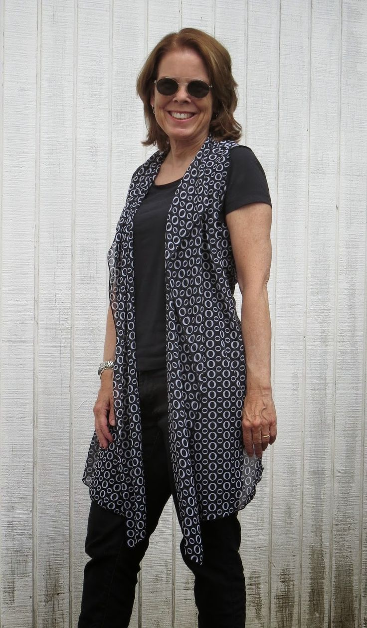 Flattering50 style over 50 a vest above the rest
