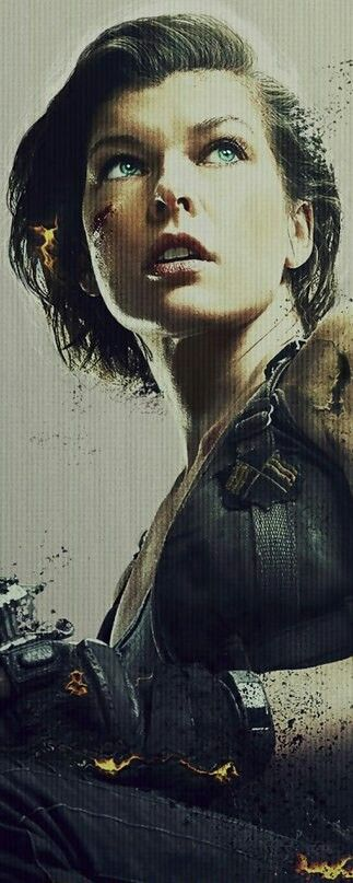 Milla Jovovich just seems like a badass in all her roles in Resident Evil movies acting out as Alice. I consider her my role model :)