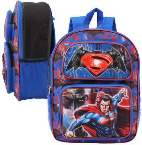"""16"""" Batman v Superman 3D Lenticular Backpack - Assorted - 12 Units"""
