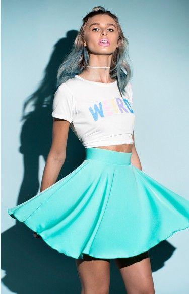 Newtown Skirt Mint