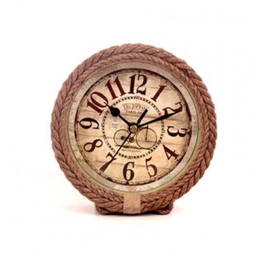Hasır Masaüstü Saat