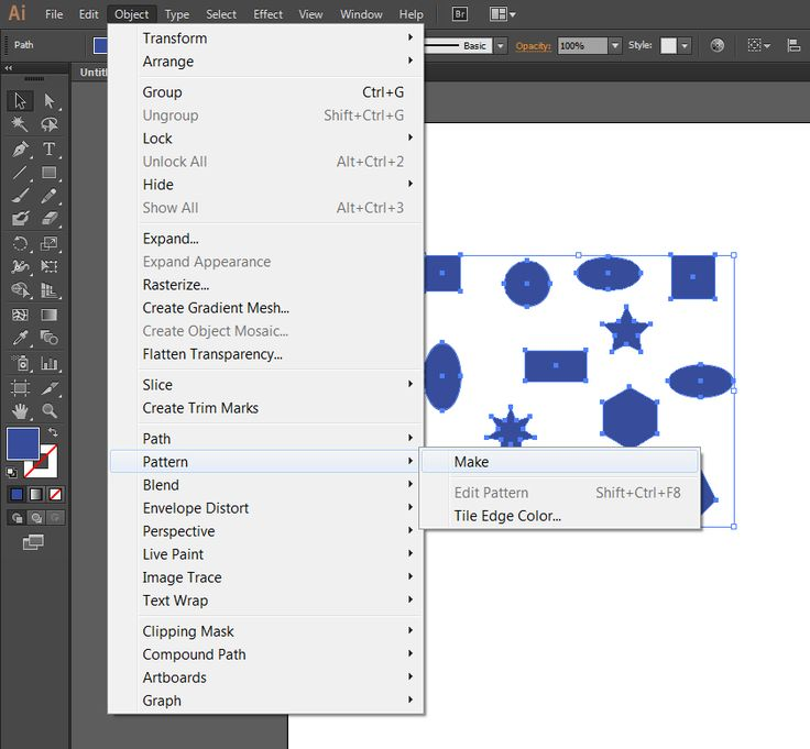 How to Create Seamless Patterns in Adobe Illustrator - MonsterPost