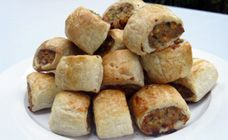 Healthy Vegetable And Chicken Sausage Rolls - Toddler