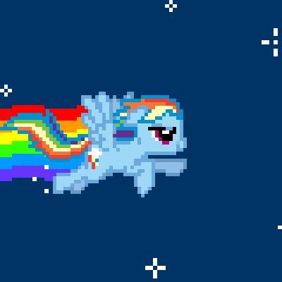 rainbow dash nyancat meme nyancat mashup animation lol geek my little pony friendship is magic
