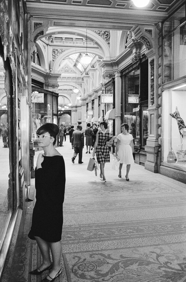 I love that the Hopetoun Tea Rooms, visible in this 1960s pic of the Block Arcade, are still in business. My dentist is in the Block Arcade and I emerge with squeaky-clean teeth directly in front of a display of tempting cakes!