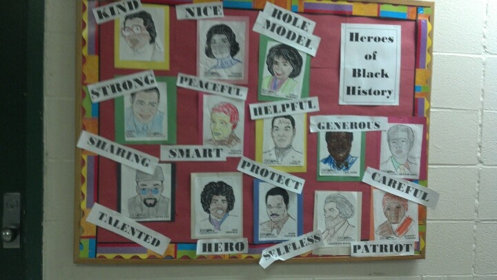 89 best black history bulletin board images on pinterest for Black bulletin board ideas