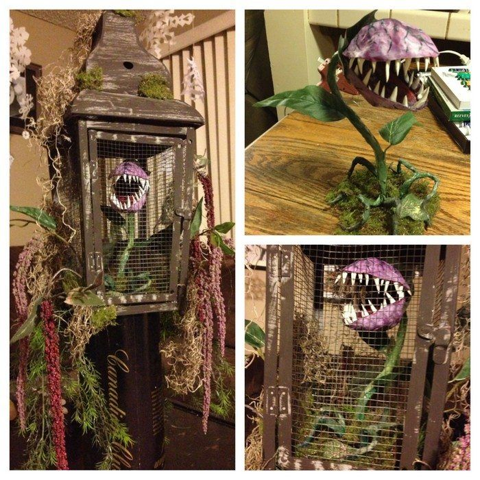 Decorate your garden this Halloween with man-eating monster plants! | Craft projects for every fan!