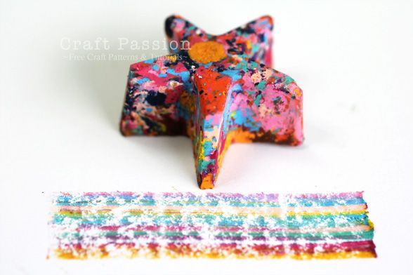UpCycle your oil pastel remnants...or crayons  Kids love Crayon muffins. Make these all the time!