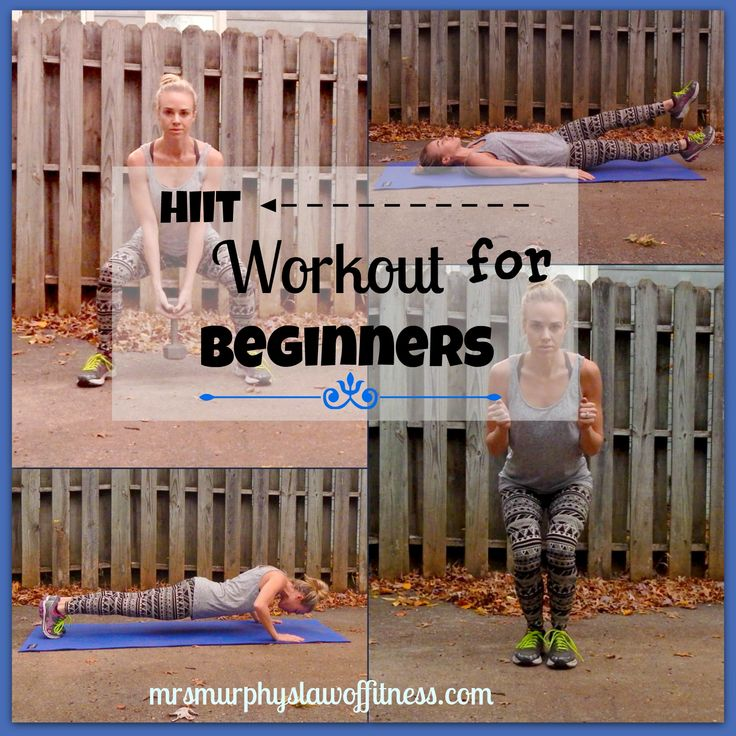 Home Exercise Equipment For Beginners: Hiit Workout For Beginners