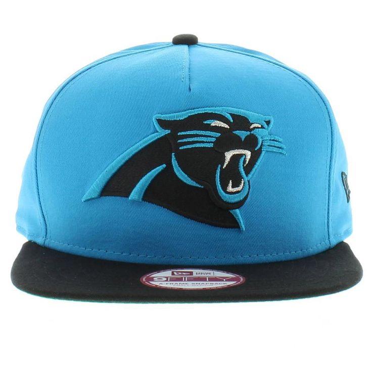 carolina panther colors | Carolina Panthers Team Colors The Team Flip 2 SNAPBACK 950 9fifty New ...