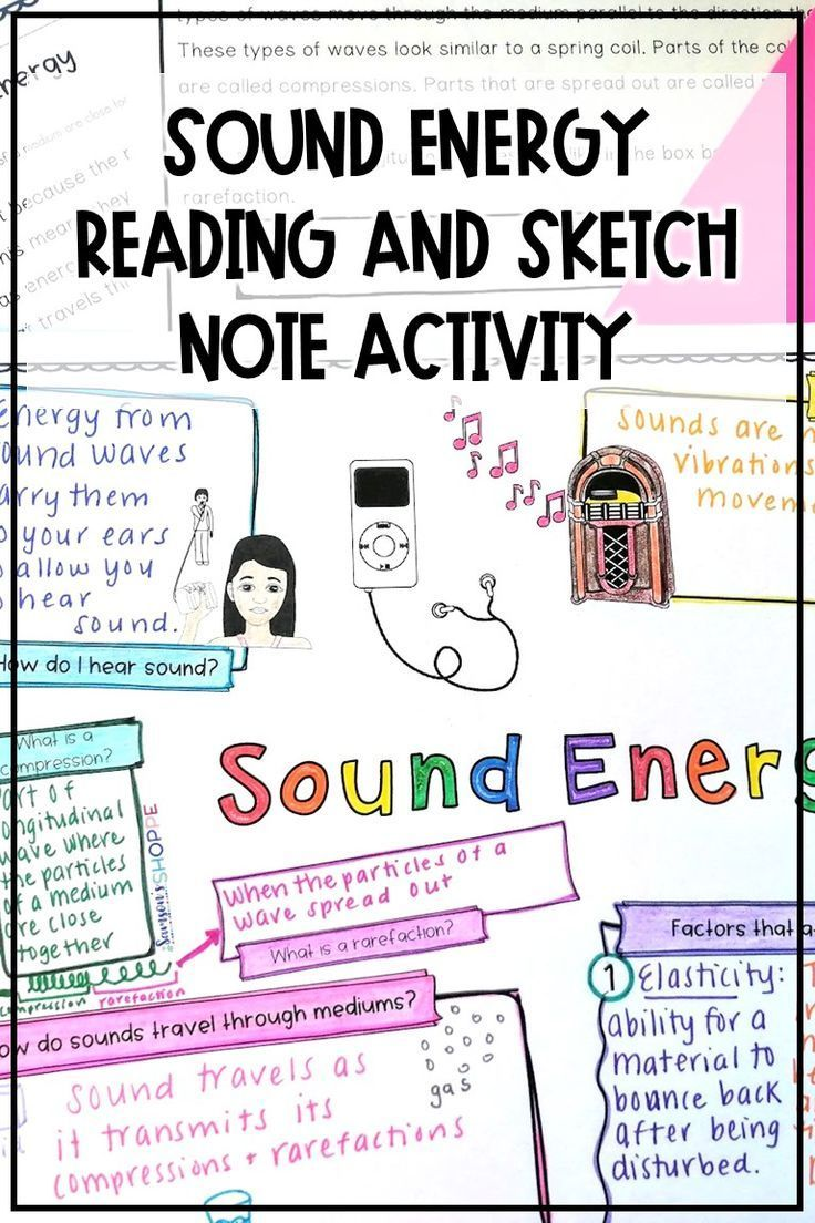 medium resolution of Sound Energy and Waves Activity   Sound energy activities