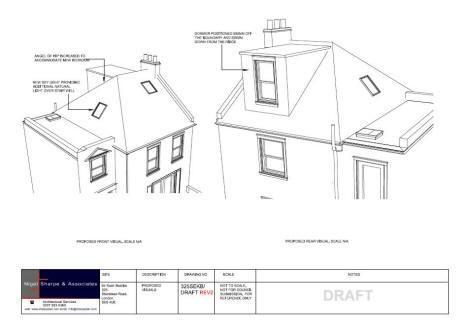 loft conversion plans rear dormer window sky light planning loft conversion plans 458x322