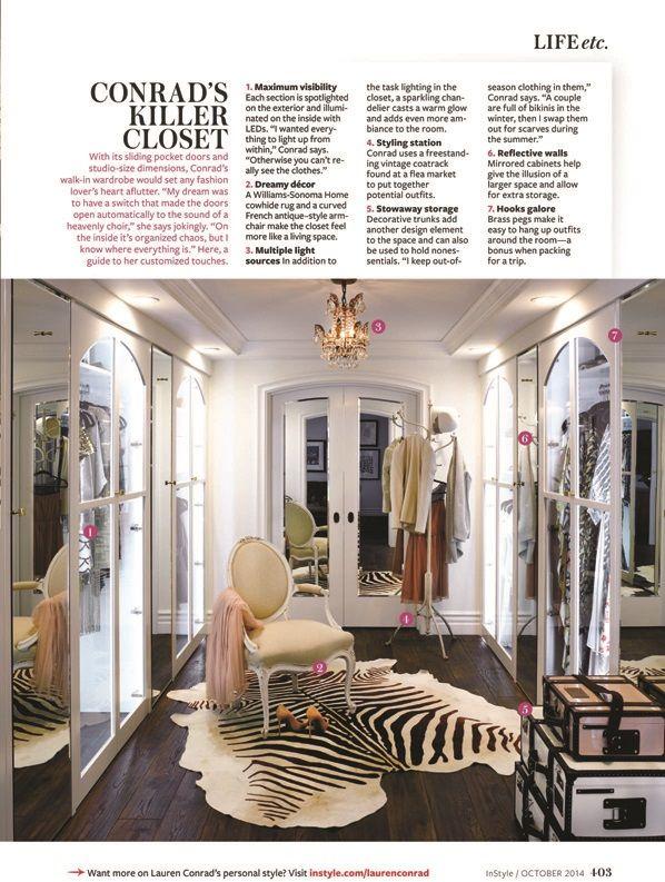 Lauren conrad instyle magazine home