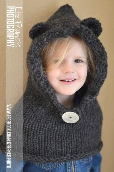 Hooded Cowl for Toddlers or Child