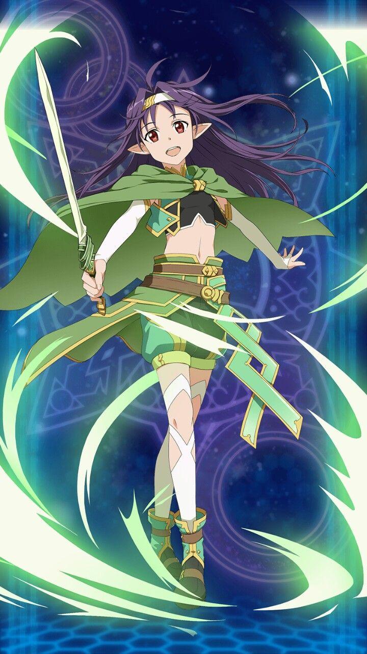 SAO - Yuuki, Green Saber