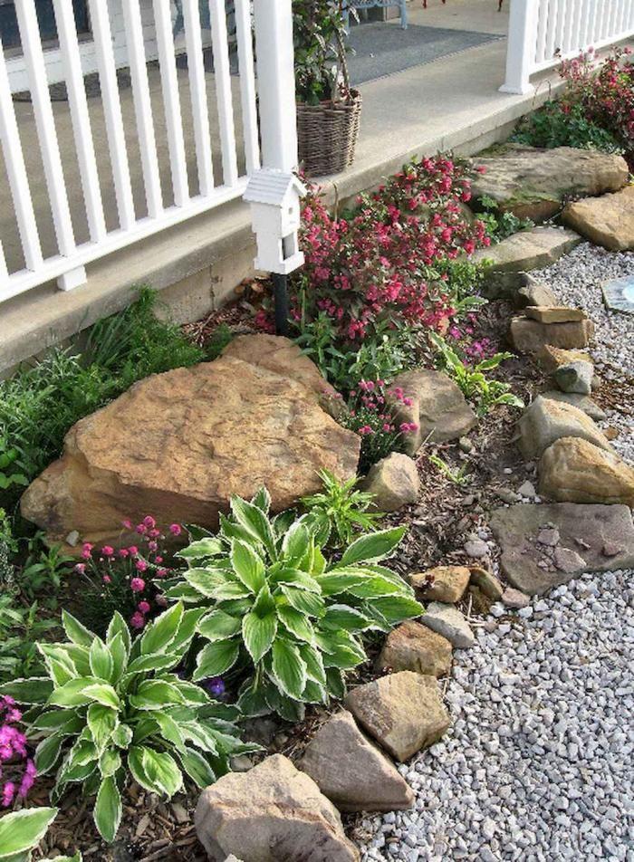 20 Wonderful Front Yard Rock Garden Landscaping Ideas Rock Garden Design Rock Garden Landscaping Backyard Landscaping