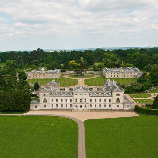 Woburn Abbey-Home of the Dukes of Bedford. I chose this one to be Westley Park. The size and inside of the house is similar to how I imagine the Trentworth's home. The only exception is the entrance which does not have a staircase.