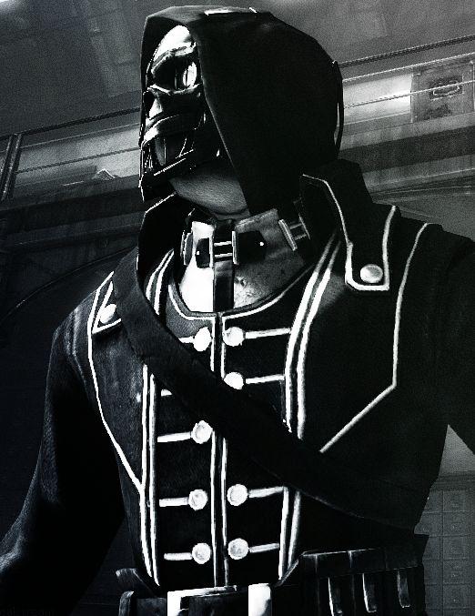 Dishonored: Corvo Attano's in-game model