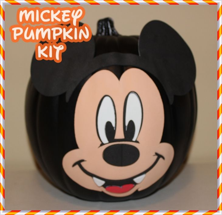 27 best images about mickey fall halloween on pinterest for How to paint a mickey mouse pumpkin