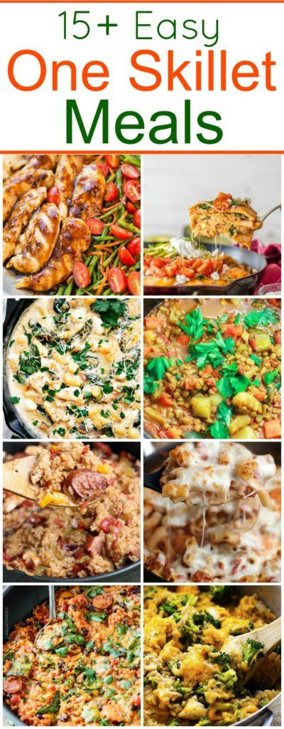 15 Easy One-Pan Skillet Meals