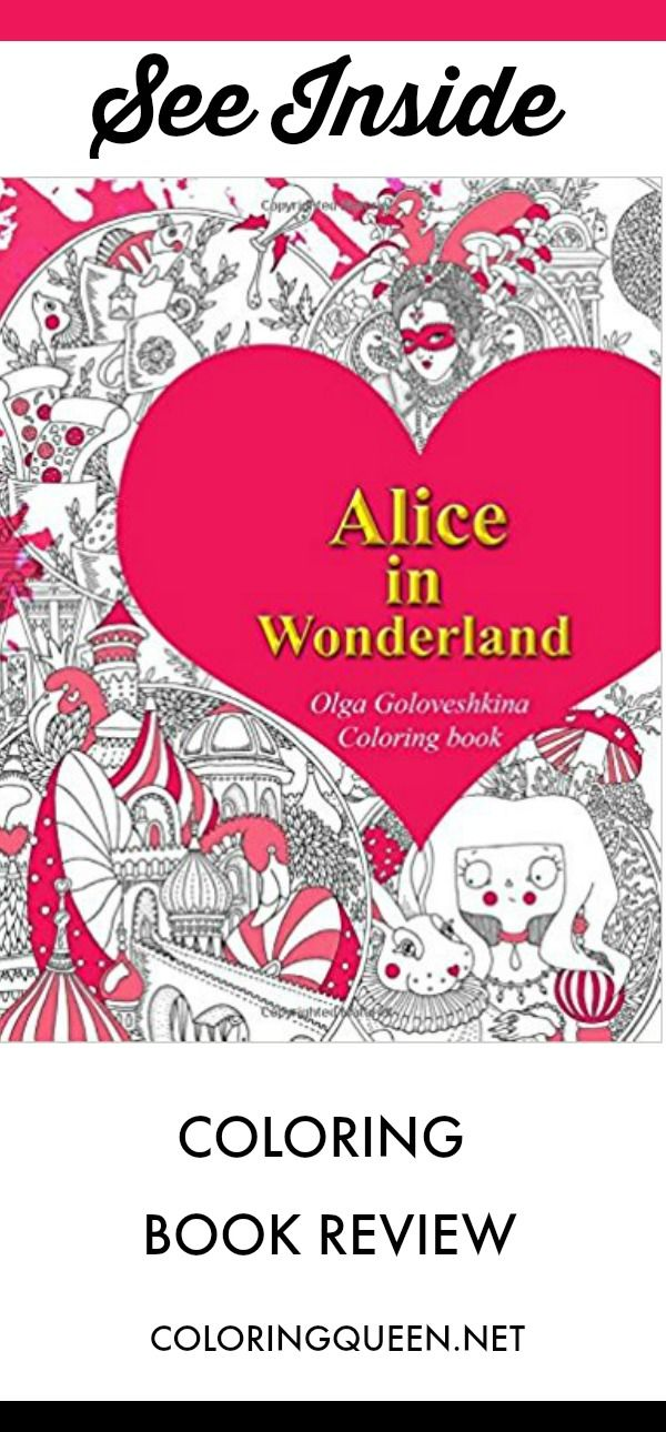 alice in wonderland coloring book review lewis carrollcoloring