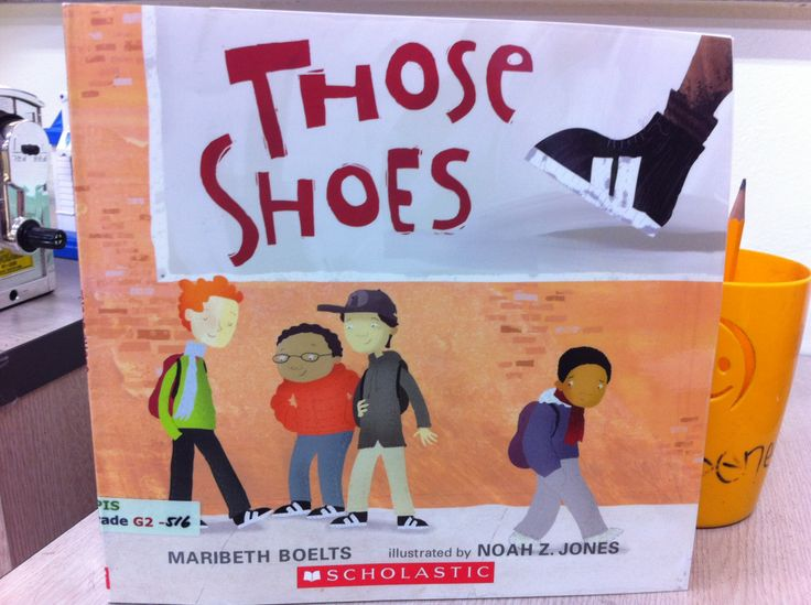 Those shoes book and writing activity for students to discuss when they have showed empathy to another person.