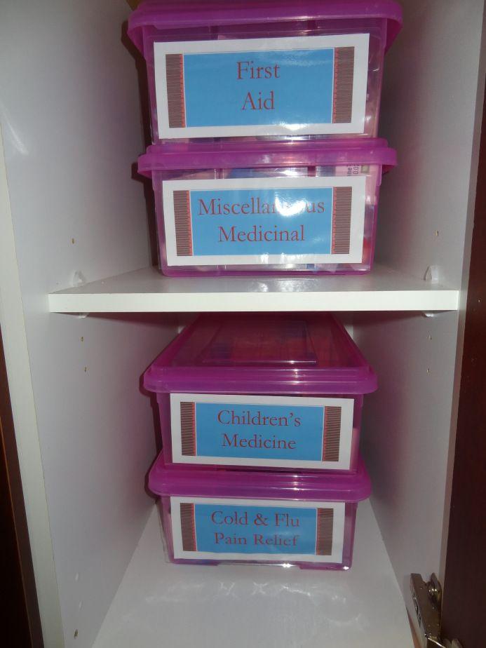133 best Organized medicine cabinets images on Pinterest ...