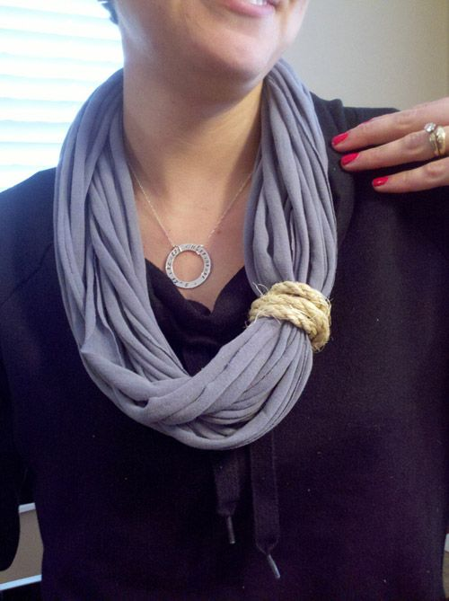 31 best images about tshirt scarves on Pinterest | No sew ...
