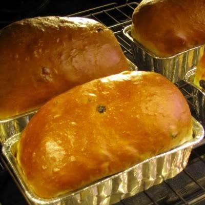 Christmas Bread (Jule Kaga). Photo by Chef LauraMD
