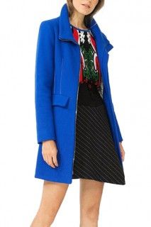 Desigual modrý kabát Julieta