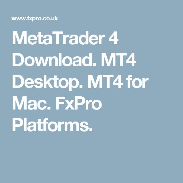 Forex mt4 platform for mac
