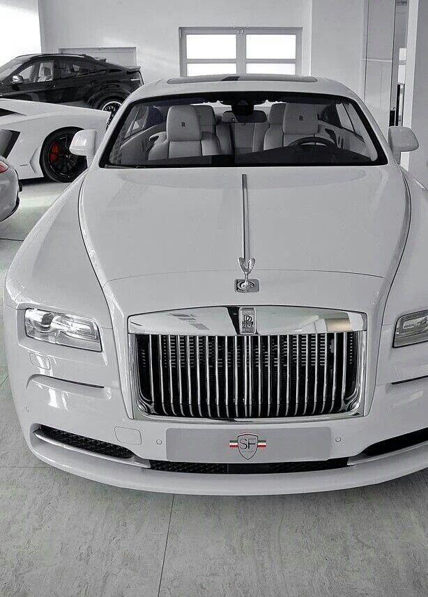 Triple white Rolls Royce Phantom