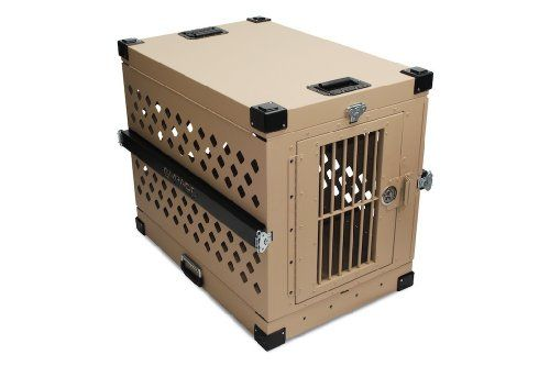 Special Offers - Impact Case Collapsible Dog Crate Medium (Desert Tan) - In stock & Free Shipping. You can save more money! Check It (April 05 2016 at 09:29PM) >> http://doghousesusa.net/impact-case-collapsible-dog-crate-medium-desert-tan/
