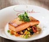 Image result for giada salmon and succotash