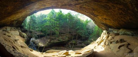 Explore Old Man's Cave. Hocking Hills State Park is arguably Ohio's most beloved state park, where waterfalls, caves, unique rock formations and hiking trails abound.