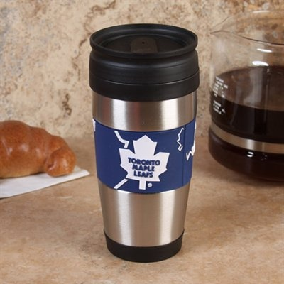 Toronto Maple Leafs Travel Mug.. how cool is this!!