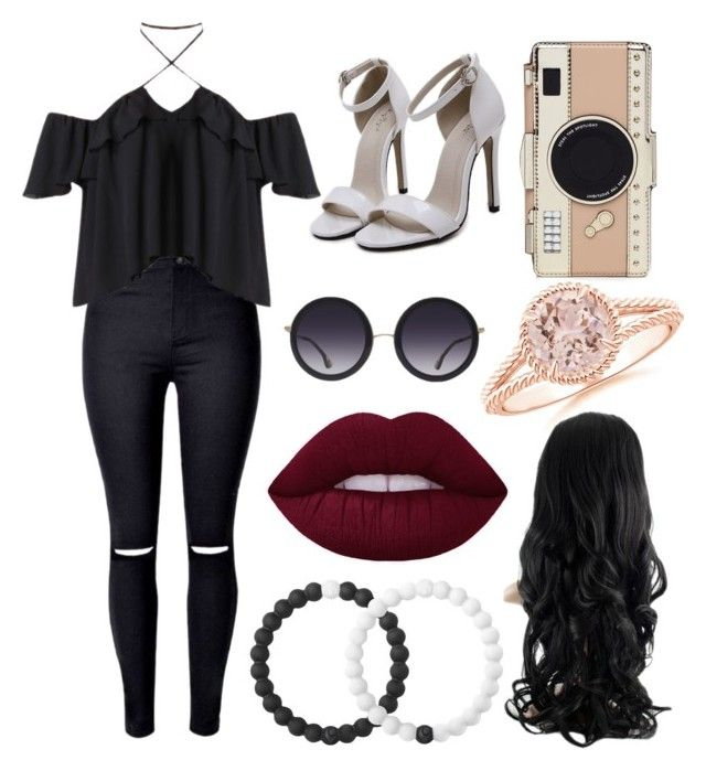 """""""Untitled #68"""" by kalleigh7gibson ❤ liked on Polyvore featuring Kate Spade, Alice + Olivia and Lokai"""
