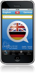 Online dictionary German-English - Larousse