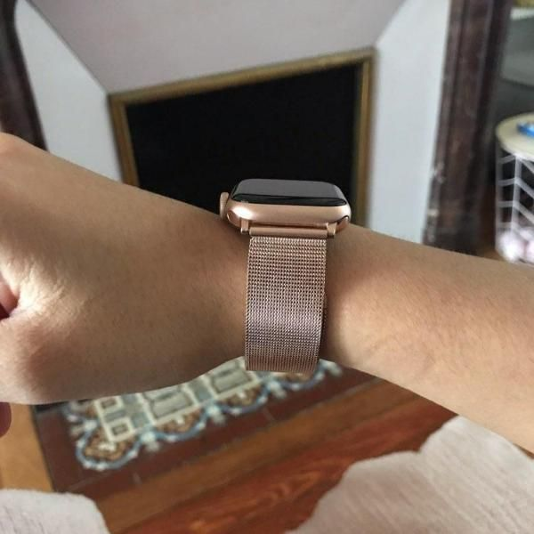 Apple Watch Series 5 4 3 2 Band Milanese Mesh Sport Loop