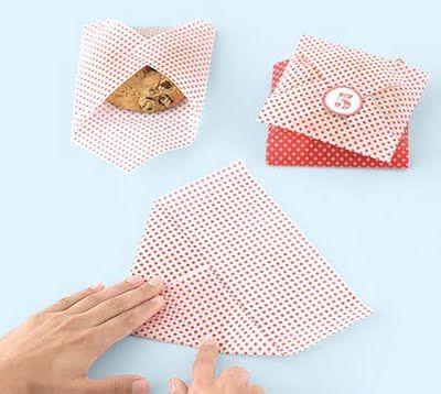 Martha Stewart Paper Cookie Favor Bags Sticker DIY