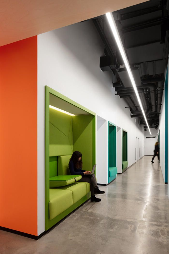 Office Tour Ocad U Co Incubator Offices Toronto Commercial Interiors Design Innovation Design
