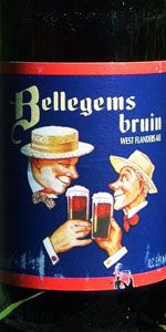 Bellegems Bruin- a good beer -goes with sweet things....