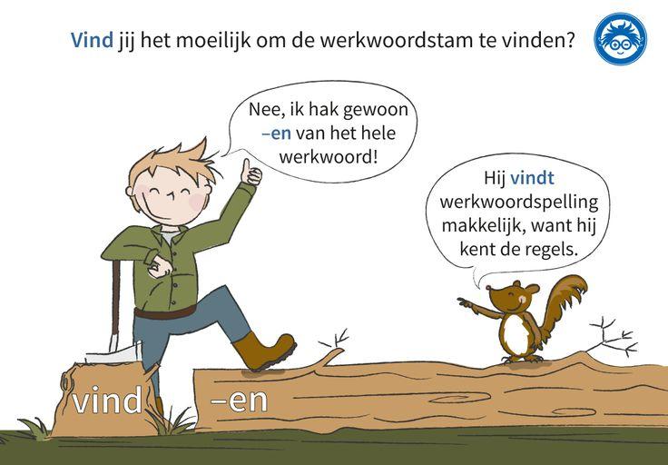 Is het nou d of t? Weet altijd het juiste antwoord door te oefenen met de stam op www.taal-oefenen.nl