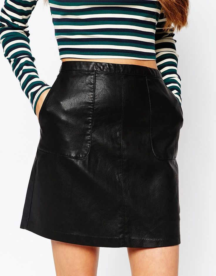 17 Best images about Leather short skirts on Pinterest | Leather ...
