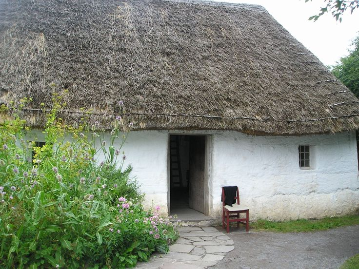 """Sian and Rhonwen""""s white washed cottage"""