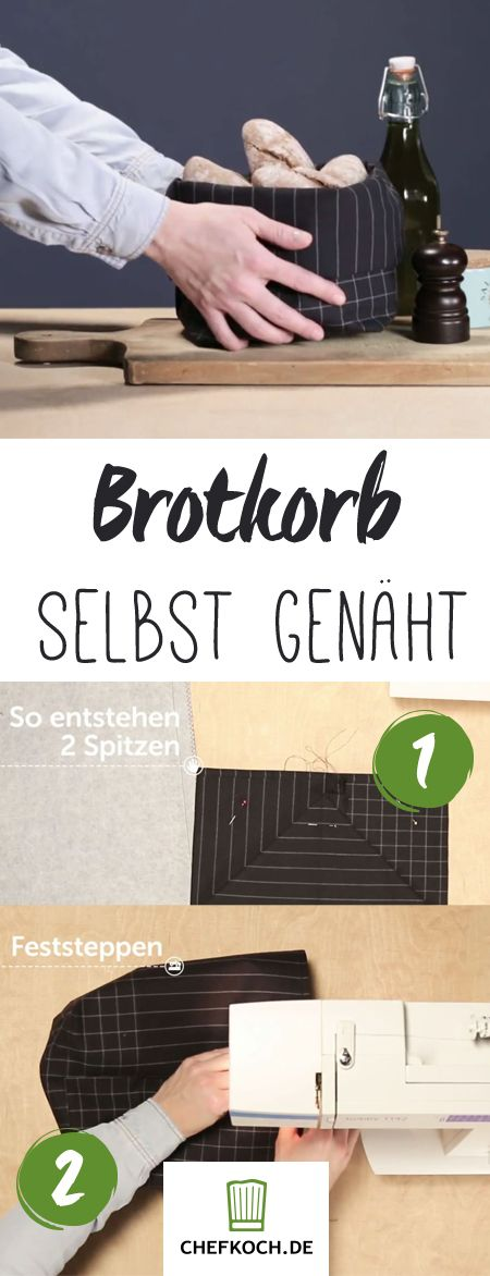 DIY-Brotkorb: sooo hübsch!