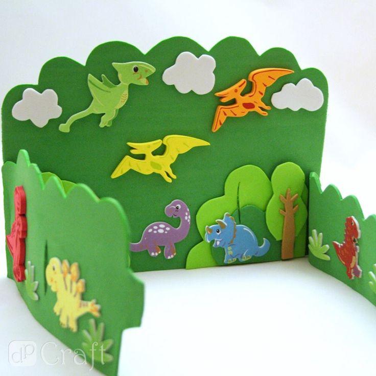 piankowe dinozaury - dpCraft - Agnieszka C